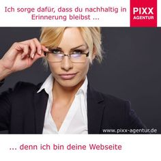 Ich sorge dafür, dass du nachhaltig in #Erinnerung bleibst … denn ich bin deine #Webseite   Wir sorgen dafür das Ihre #Webseite die bestmöglichste #Performance erhält, um  Nachhaltigkeit zu erreichen.   www.pixx-agentur.de/webseiten-gestaltung/