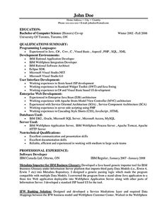 Developer Resume Examples Acting Resume No Experience Template  Httptopresume