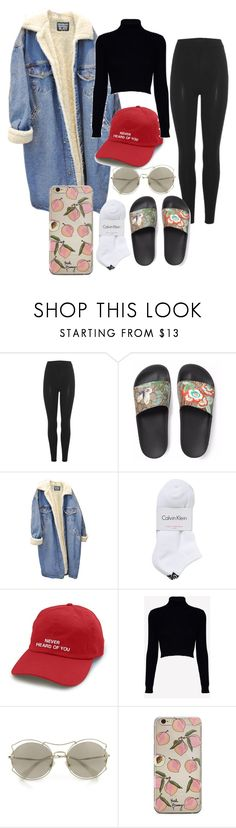 """""""#12-Kstyle"""" by el-khawla ❤ liked on Polyvore featuring Yeezy by Kanye West, Gucci, Calvin Klein, Jack Wills, Miu Miu, kpop, koreanstyle and kstyle"""