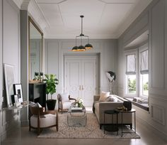 How to add crown mouldings to any room.