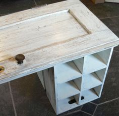 upcycle Old Doors | How to upcycle an old cupboard door into a coffee table | MIAMI