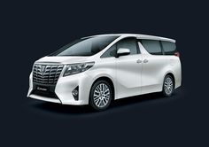 Toyota Alphard 2,5V - Exterior - Side Front view - First Class Comfort for The Family - AUTO2000