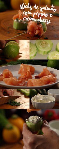 Com apenas 10 minutinhos para serem feitos, os sticks de salmão são glúten free e a turma da dieta adora. Veja mais receitas em www.myyellowpages.com.br