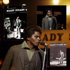 James Brown performs on Britain's Ready, Steady, Go!, 1963 ITV