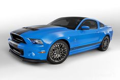 Ford Mustang Shelby GT500 V8 2013, o motor mais potente do mundo
