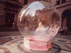 Vintage Snow Globes; | Penny Sparkle