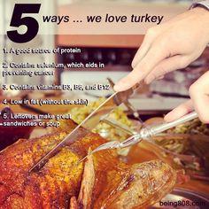 5 ways … we love turkey