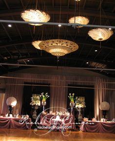 Dramatic Head Table Configuration - Rachel A. Clingen Wedding & Event Design #head table