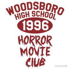 e0bbd2d753 Woodsboro High Horror Movie Club 1996 Scream Movie
