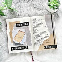 Bullet Journal Tracker, Bullet Journal Ideas Pages, Bullet Journal Inspo, Journal Pages, Recipe Book Templates, Recipe Book Design, Scrapbook Recipe Book, Scrapbook Journal, Art Journal Inspiration