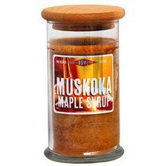 Muskoka Maple Syrup Apothecary @Country Home Candle #muskoka #madeincanada #canadian