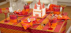How cute is this castle themed bday party? #bySandraLee