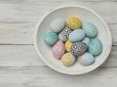 Craft Painting - DIY Tabletop Easter Eggs Decoration