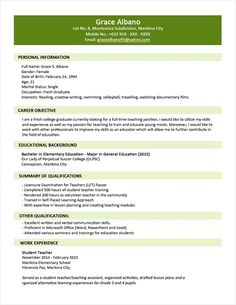 math teacher resume objective Curriculum Vitae : Sample Resumes For Professionals Math Teacher . Resume Format For Freshers, Resume Format Download, Sample Resume Format, Sample Resume Templates, Cv Format, Cv Template Word, Best Cv, Sample Resume Cover Letter, Philippines