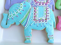 Indian Elephant Sugar Cookies | Flickr - Photo Sharing!
