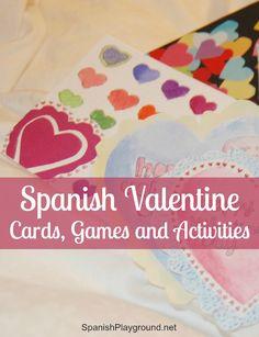 Spanish Valentine Activities for Kids - Spanish Playground