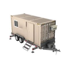 Container House Design Trailers – Shipping Container US Container Van House, Cargo Container Homes, Container Shop, Building A Container Home, Container Cabin, Container House Design, Sea Containers, Casas Containers, Portable Storage Buildings