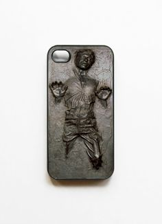 Han Solo Frozen in Carbonite iPhone 4 & 4S Case