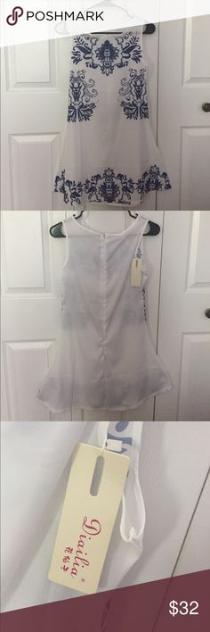 Womens/teens swimsuit coverup A cute swimsuit coverup perfect for the summer. Brand new with tag. Size: Small. I encourage offers!! Swim Coverups