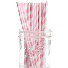 Striped Paper Straws (30 SAR) ❤ liked on Polyvore featuring home, kitchen & dining, kitchen gadgets & tools, filler, home decor, decor and other