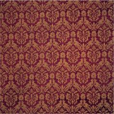 Ariele  Originally an Italian 16th century silk damask, a very typical, small pattern design with examples of this and similar in all major European museum collections.    Composition: Mercerised cotton/worsted or silk/worsted