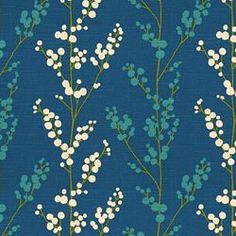 EVELYNNE BALTIC - Floral/Foliage - Shop By Pattern - Fabric - Calico Corners