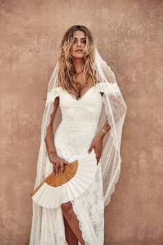 Grace Loves Lace-the Australian pioneers of modern bridal and creators of 'The World's Most Pinned Wedding Dress' - has launched its highly-anticipated collection, La Bamba Australian Wedding Dresses, New Wedding Dresses, Boho Wedding Dress, Bridal Dresses, Lace Wedding, Wedding Blog, Wedding Ideas, Lace Bride, Bridal Lace