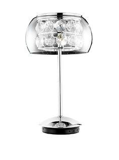 Hermosa lámpara de cristal...para mi oficina!