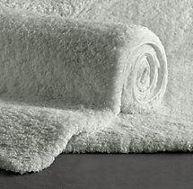 Plush Pile Bath Rug
