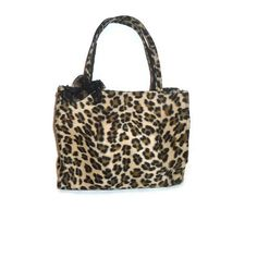 Faux Fur Altered Cheetah Print Purse with by AccursedDelights, $25.00