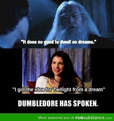 It's fun to make fun of twilight but the books were really good. It's the movies that sucked.