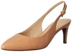 Cole Haan Womens Medora Sling Pump Nude Leather 95 B US * To view further for this item, visit the image link. (This is an affiliate link) Pumps Heels, High Heels, Cole Haan Pumps, Cool Boots, Nude, Legs, Leather, Amazon, Image Link