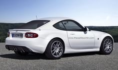 Mazda MX-5 Coupe by Theophilus Chin, via Flickr