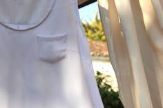 Oh, Mother Mine!!: Cómo hacer y coser una blusa blanca básica