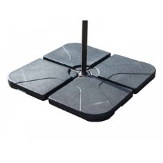 Plastic Base for Cantilever Parasol (4 pieces)