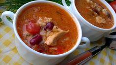 Marokańska zupa z kurczakiem