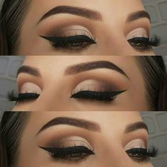 10 Dramatic Eye MakeUp Ideas For A Beautiful Bride Makeup Looks Winter, Bold Makeup Looks, Dramatic Eye Makeup, Formal Makeup, Simple Eye Makeup, Fall Makeup, Makeup Goals, Makeup Inspo, Makeup Inspiration