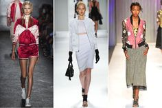 Most Wearable Spring 2014 Fashion Trends: Fashion: Cool Bomber Jackets 2014 Fashion Trends, 2014 Trends, Runway Fashion, Fashion Show, Fashion Outfits, Fashion Glamour, Spring Trends, Spring 2014, Summer 2014