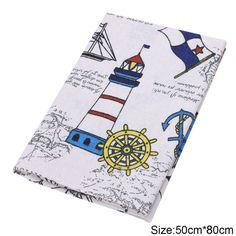 Cotton Linen Fabric Print thin Patchwork dobby Fabric Quilt Charm Quarters Bundle Sewing 50cmx80cm W210 #Affiliate