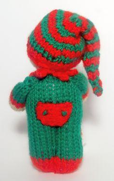 Cutest Little Christmas Elf knitting pattern ever!!