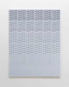Jacob Dahl Jürgensen, Securities, 2013, Photocopied security paper (Kant Kopy) mounted on canvas, 130.5 x 168.5 cm