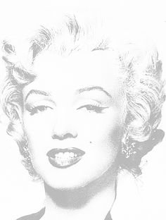 Free Art History Coloring Pages: Do-It-Yourself Marilyn Monroe Coloring Page