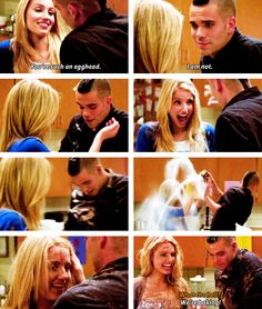 Quinn and Puck, Glee