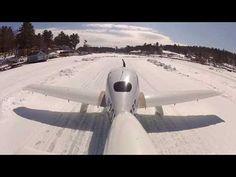 Piste aus Eis: New Hampshire - Ein Flughafen für 26 Tage   traveLink