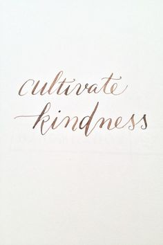 Be kind - Do unto others as you would have them do unto you