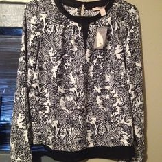 Printed Blouse Brand new ! Forever 21 Tops Blouses
