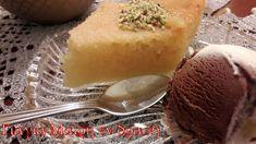 Σάμαλι Μελωμένο Συνταγή Αιγύπτου Cantaloupe, Pudding, Fruit, Sweet, Desserts, Recipes, Food, Cakes, Candy