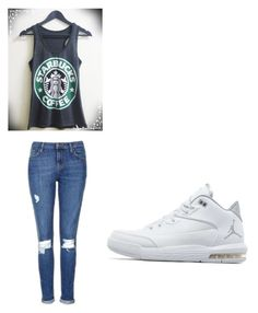 """""""Untitled #28"""" by jalaya06 on Polyvore featuring Topshop and Jordan Brand"""