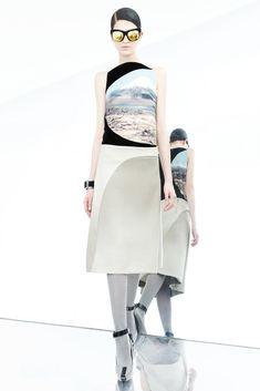 Pedro Lourenço Pre-Fall 2012 Fashion Show - Marcele Dal Cortivo