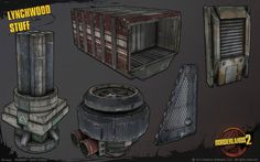 BORDERLANDS 2 ART MEGA THREAD!!!! [OMG IMAGE HEAVY] - Polycount Forum